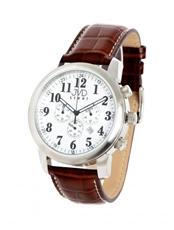 dd1d2356026 Pánské hodinky s chronografem JVD steel C03.2 + Dárek zdarma
