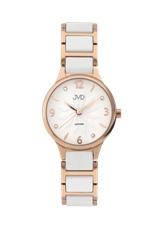 Keramické dámské hodinky JVD JG1001.2 + Dárek zdarma f8b4279a88b