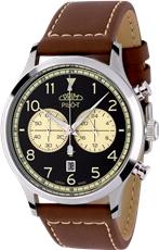 Pánské hodinky Prim Pilot W01P.13068.B + Dárek zdarma 48fd6de492