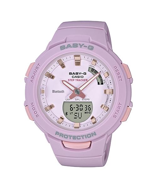 fb4f9f8e9d0 Dámské hodinky Casio BABY-G STEP TRACKER BSA B100-4A2 + Dárek zdarma ...